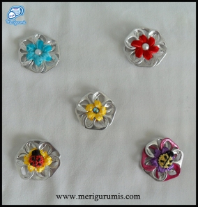 Broches anillas