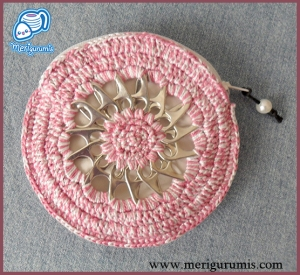 Monedero rosa