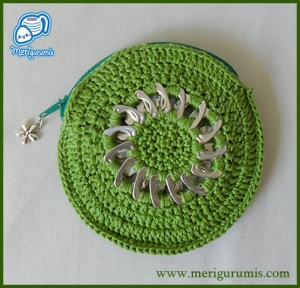 Monedero verde